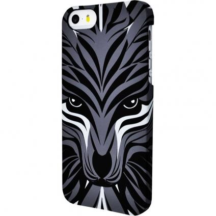Накладка для iPhone 6/6s от Luxo Face Волк темный