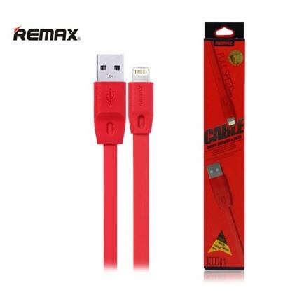 Кабель и адаптер Remax USB Cable to Lightning Quick 1m Red