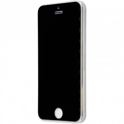 Защитное стекло Full Matt Black iPhone 6/6S