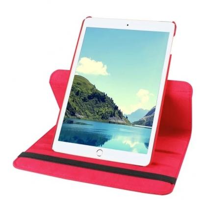 Кожаный чехол 360 Rotating для iPad mini 4 Красный
