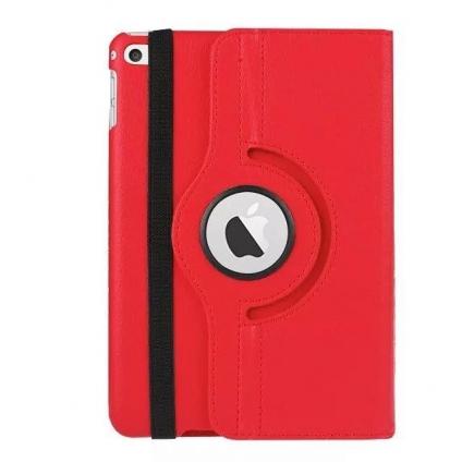 Кожаный чехол 360 Rotating для iPad mini 3/2/1 Красный