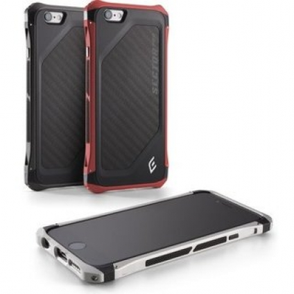 Аксессуар для iPhone Element Case Sector Pro Black/Black  for iPhone 6/6S