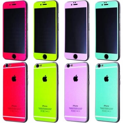 Защитное стекло Summertime iPhone 6/6S перед + зад
