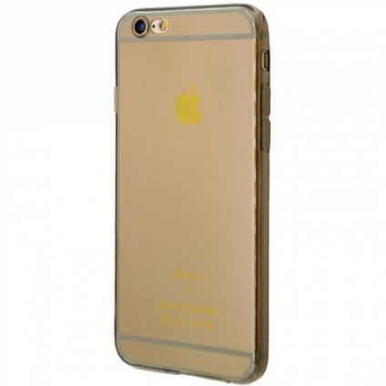 Силикон 0.5 mm с защитой камеры iPhone 6/6s