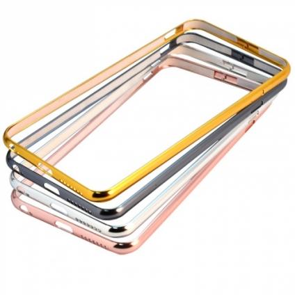 Бампер Хром защелка сверху для iPhone 6/6S