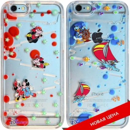Чехол Disney вода iPhone 6
