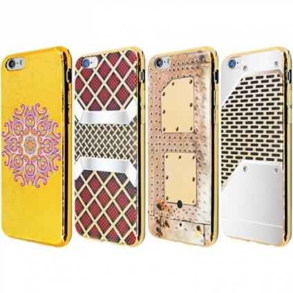 Силикон Хромированный iPhone 6/6s