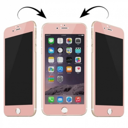 Защитное стекло FULL SCREEN Rose Gold iPhone 6/6S