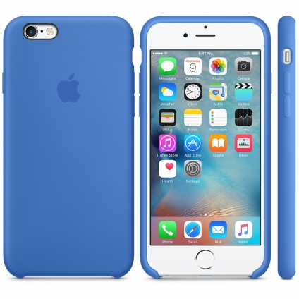 Чехол Apple Silicone Case  Royal Blue High copy для iPhone 6/6s