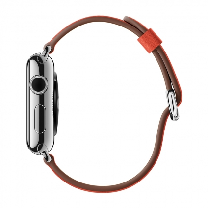 Ремешок Remax 38mm Red Classic Buckle  для Apple Watch