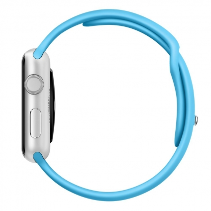 Ремешок Apple 42mm Blue Sport Band  для Apple Watch