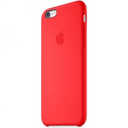 Чехол Apple Silicone Case  RED High Copy  для iPhone 6/6s