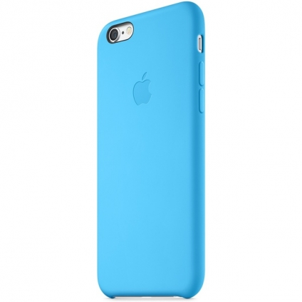 Чехол Apple Silicone Case sea Blue High copy для iPhone 6/6s