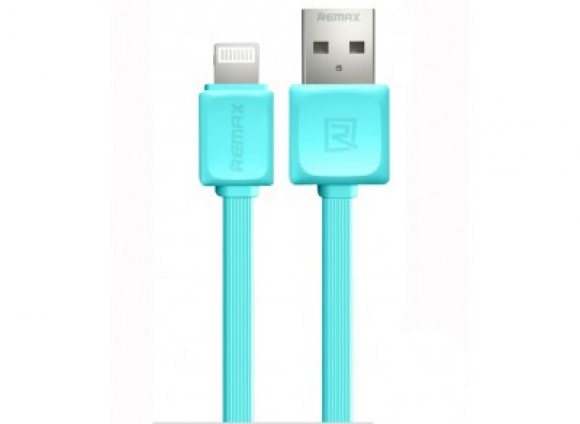 Кабель и адаптер Remax USB Cable to Lightning Fast Data 1m Blue