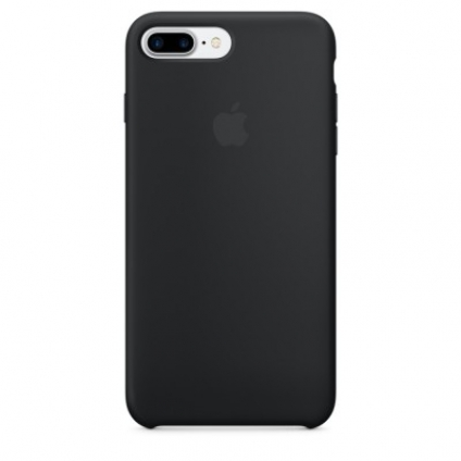 Чехол Apple iPhone 7 Plus Silicone Case Black (MMQR2ZM/A)