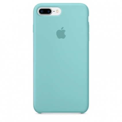 Чехол Apple iPhone 7 Plus Silicone Case Sea Blue (MMQY2ZM/A)
