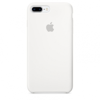 Чехол Apple iPhone 7 Plus Silicone Case White (MMQT2ZM/A)