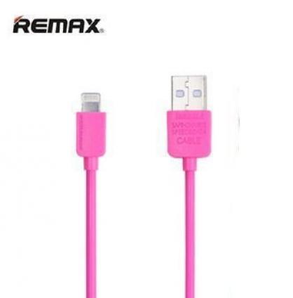 Оригинальный USB кабель REMAX Light 1 м розовый
