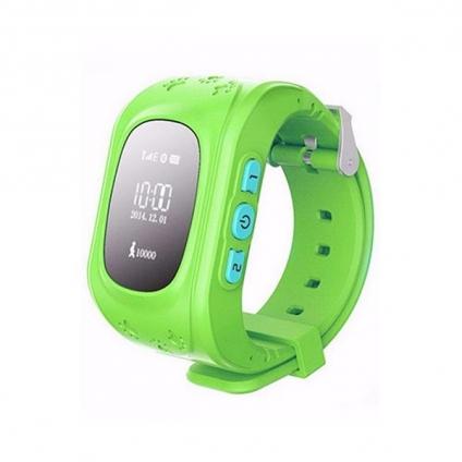 Детские телефон-часы с GPS iQwatch Baby Q-50 (Green)