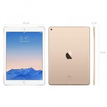 Apple iPad Air 2 128GB Wi-Fi + 4G Silver
