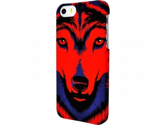 Накладка для iPhone 5/5s от Luxo Face волк