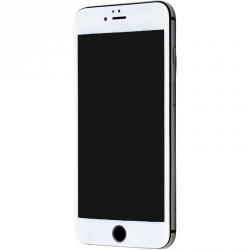 Защитное стекло с белым ободком для iPhone 6