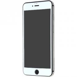 Защитное стекло Full Matt White iPhone 6/6S
