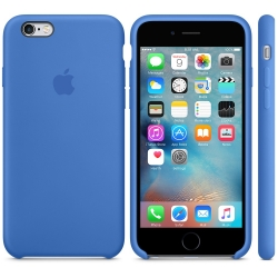 Чехол Apple Silicone Case  Royal Blue High copy для iPhone 6/6s