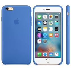 Силиконовый чехол Apple Silicone Case Royal Blue High copy для iPhone 6s Plus