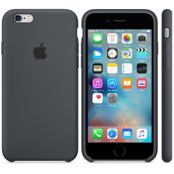 Силиконовый чехол Apple Silicone Case Charcoal Gray High copy для iPhone 6s Plus