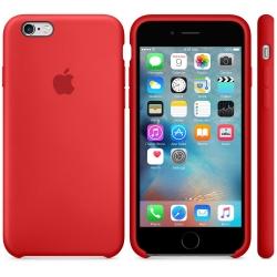 Силиконовый чехол Apple Silicone Case RED High copy для iPhone 6s Plus