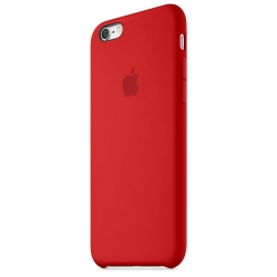 Силиконовый чехол Apple Silicone Case RED High copy для iPhone 6s Plus