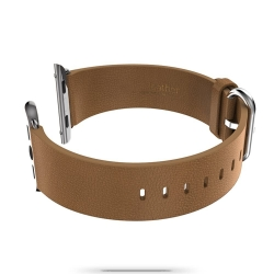 Кожаный ремешок Remax Leather Brown для Apple Watch 38mm