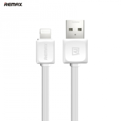 Кабель и адаптер Remax USB Cable to Lightning Fast Data 1m White
