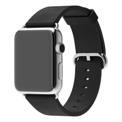 Ремешок Remax 38mm Black Classic Buckle  для Apple Watch