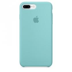 Чехол Apple iPhone 7 Plus Silicone Case Sea Blue (MMQY2ZM/A)