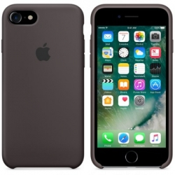 Чехол Apple iPhone 7 Silicone Case Cocoa (MMX22ZM/A)