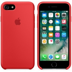 Чехол Apple iPhone 7 Silicone Case RED (MMWN2ZM/A)