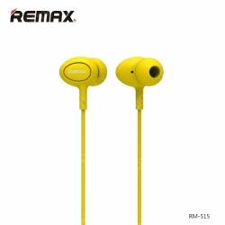 Наушники  REMAX RM-515 Желтые