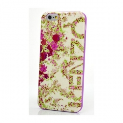 Чехол Kenzo для Apple iPhone 6 белый с цветами