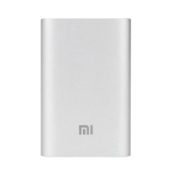 Портативное зарядное устройство Xiaomi Mi Power Bank 10000mAh Silver