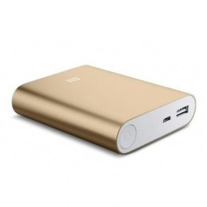 Внешний аккумулятор Xiaomi Power Bank copy 10400 mAh Gold